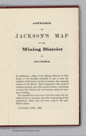 Text Page: Appendix to Mining District of California