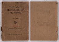 (Covers to) The Coal Resources Of The World. Atlas. Edited By William McInnes, B.S., F.R.S.C., D.B. Dowling, B.A.Sc., F.R.S.C., And W.W. Leach, B.A.Sc., Of The Geological Survey Of Canada. Morang & Co., Limited, Publishers: Toronto, Canada. (seal) Geologorum Conventus Mente Et Malleo. XII 1913 Canada.