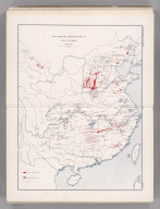 Coal Resources of the World. China. Map No. 9. Map Showing Distribution of Coal in China.