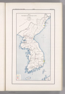 Coal Resources of the World. Corea. Map No. 10. Plate I. Map Showing the Distribution of Coal in Corea.