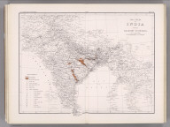 Coal Resources of the World. India. Map No. 18. Coal Fields of India and Adjacent Countries.