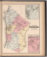 Town of Ossining, Westchester County, New York. (insets) Croton Landing. Sparta.