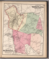 Towns of White Plains and Scarsdale, Westchester County, New York.