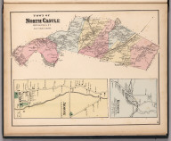 Town of North Castle, Westchester County, New York. (insets) Kensico. Armonk.