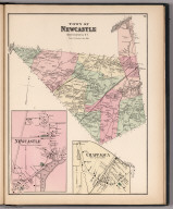 Westchester County, New York. (insets) Newcastle. Chappaqua.
