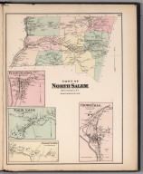 Town of North Salem, Westchester County, New York. (insets) Croton Falls. North Salem. Purdy Station.