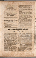 Advertisement: (Geographical works from the publisher of Justus Perthes in Gotha).