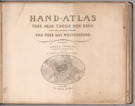Title Page: Earth Atlas.