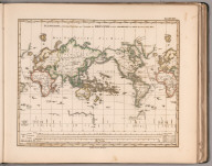 Planiglob in Mercators Projection. (Antipodes).