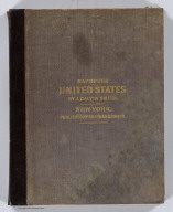 (Covers to) Map Of The United States Of America Including Canada and a large portion of Texas: Showing the Base Meridian and Township Lines of the U.S. Surveys. The lands allotted to the Indian Tribes west of the Mississippi. The Various Internal Improvements &c. Compiled from Surveys of the United States Land Office, and various other authentic sources By J. Calvin Smith. New York, Published by Sherman & Smith, 135 Broadway. 1850. Revised Edition. Steel Plates. Entered ... 1843 by Geo. E. Sherman & J. Calvin Smith ... New York. Engraved and Printed by Sherman & Smith New York. (inset) Map Of North America By J. Calvin Smith. (inset) Southern Florida.