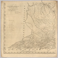Map Of Virginia (lower left sheet)