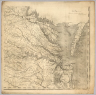 Map Of Virginia (lower right sheet)
