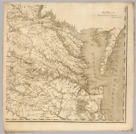 Map of Virginia, 1818 (lower right sheet)