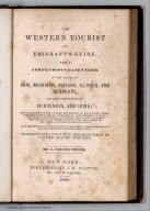 Title Page: The Western Tourist and Emigrant's Guide