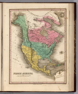 North America. Young & Delleker Sc. Published by A. Finley Philada.