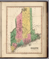 Maine. Young & Delleker Sc. Published by A. Finley Philada.