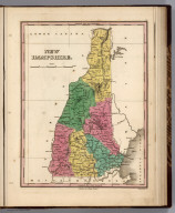 New Hampshire. Young & Delleker Sc. Published by A. Finley Philada.