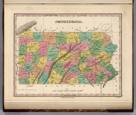 Pennsylvania. Young & Delleker Sc. Published by A. Finley Philada.