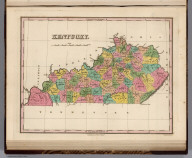Kentucky. Young & Delleker Sc. Published by A. Finley Philada.