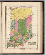 Indiana. Young & Delleker Sc. Published by A. Finley Philada.
