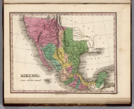 Mexico. Young & Delleker Sc. Published by A. Finley Philada.