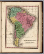 South America. Young & Delleker Sc. Published by A. Finley Philada.
