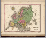Europe. Young & Delleker Sc. Published by A. Finley Philada.