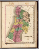 Palestine. Young & Delleker Sc. Published by A. Finley Philada.