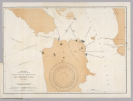 Treasury Department, U.S. Coast and Geodetic Survey, Magnetic Ranges for Compass Deviation, San Francisco Bay, California. Published December, 1897, Henry S. Pritchett, Superintendent. Verified: O.H. Tittmann, Assistant ... E.D. Taussig, Lieut. Comdr., U.S.N., Hydrographic Inspector. A.R. Graham Photo. Lith. Washington D.C.