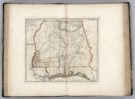 The State of Mississippi and Alabama Territory. Shallus Sc.