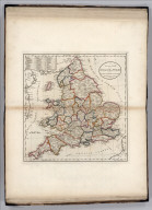An Accurate Map of England and Wales With The Principal Roads from the best Authorities.