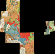 (Composite map of) All Wheeler Geological Atlas Sheets