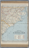 Eastern Part of North and South Carolina.