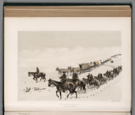 View: Snow Storm in the Coteau, Sept. 22d. 1873.