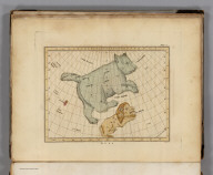 Plate 2. (Constellations near Ursa Major - the Great Bear).