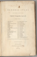 Title Page: General Atlas For Carey's Edition Of Guthrie's Geography improved