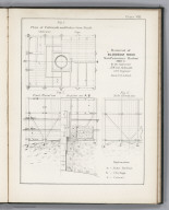 Plate VIII. Plan of the Cribwork and Boiler-Iron Shaft. Removal of Blossom Rock, San Francisco Harbor Sheet 2, by the Contractor, A.W. Von Schmidt.....