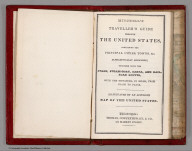 Title Page: Traveller's Guide Through The United States