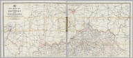 Post Route Map Of The States Of Kentucky And Tennessee With Adjacent Parts Of Va., West Va., Ohio, Ind., Ill., Mo., Ark., Miss., Ala., Ga., S.C., N.C. ... Published By Order Of Postmaster General Wilson S. Bissell Under The Direction Of A. Von Haake, Topographer P.O Dept. (seal) Post Office Department. United States Of America With Celerity, Certainty And Security. (inset) Environs Of Louisville, Ky.