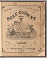 Title Page: Combination Atlas Map Of Ogle County, Illinois.