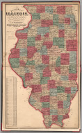 Sectional Map of Illinois.
