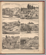 View: Residences of Ogle County, Illinois.