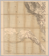 Map of the Territory of the U.S. West of the Miss. Riv. Sheet no. 4. (Prepared by authority of the Hon. the Secretary of War in the Office of the Chief of Engineers under the direction of Brig. General A.A. Humphreys Chief of Engineers and Brevet Maj. Gen. U.S. Army. By Edward Freyhold 1879) (with) Territory of Alaska.