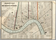 Norman's Plan of New Orleans & Environs