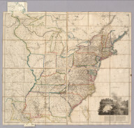 A Map Of The United States of North America Drawn from a number of Critical Researches By A. Arrowsmith, Hydrographer to His Majesty. No. 10 Soho Square. Additions to 1819. London. Published as the Act Directs by A. Arrowsmith, No. 10 Soho Square. Jan 1st, 1796. Additions to 1802 ... (inset map of Florida).