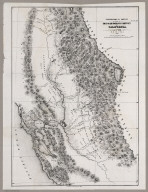 Gold And Quicksilver District Of California, 1848