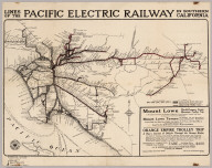 Pacific Electric Railway In Southern California