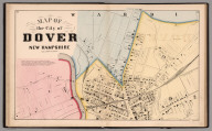 City of Dover (Northern Sheet), Strafford County, New Hampshire.