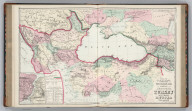 Gray's New Map of the Countries Surrounding the Black Sea Comprising European Turkey, Southern Russia, Asia Minor, Etc. (inset) The Bosphorus and Vicinity. Copyright, 1877, by O.W. Gray & Son.
