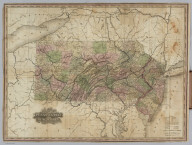 Canals And Rail Roads Of Pennsylvania And New Jersey